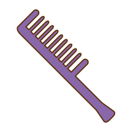 Ontwerp van de het pictogram het vectorillustratie van het kamkapperhulpmiddel