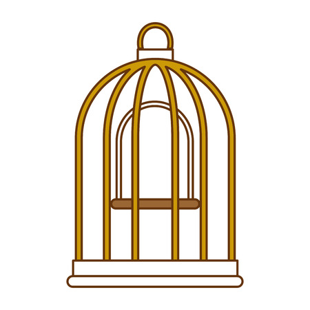 Cage bird empty icon vector illustration design Stok Fotoğraf - 96057908