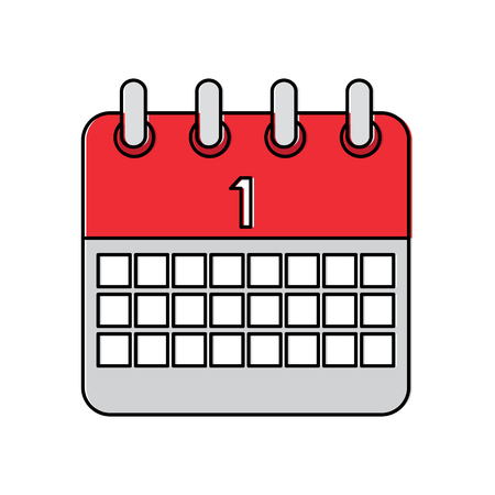 Calendar vector illustration Illustration