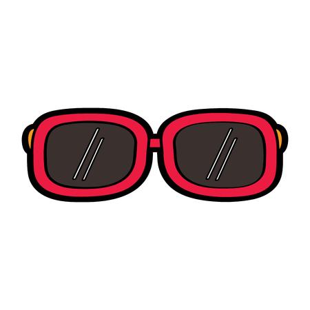 Sunglasses fashion summer accessory trendy vector illustration