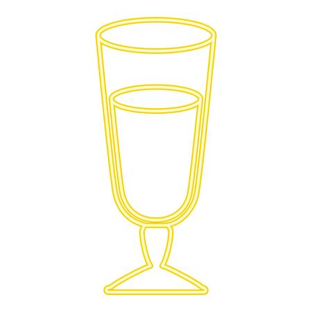 おいしいジュースカップアイコンベクターイラストデザイン  イラスト・ベクター素材