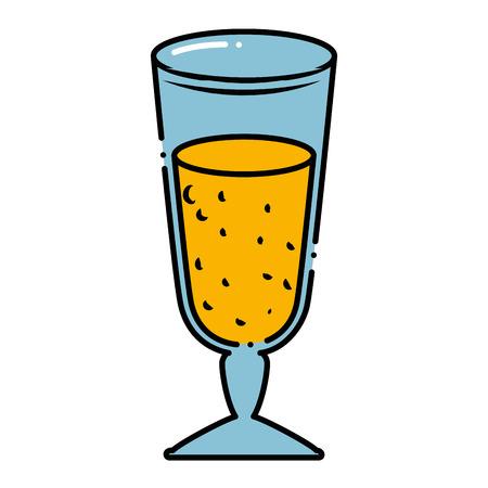 Delicious juice cup icon vector illustration design. Illustration