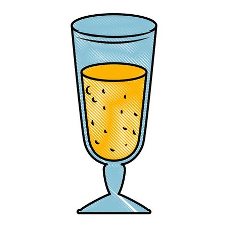 delicious juice cup icon vector illustration design