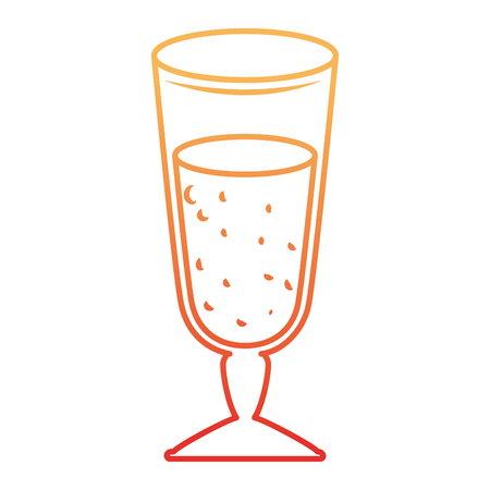Delicious juice cup icon vector illustration design Ilustração