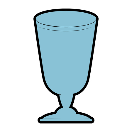 A cup glass isolated icon vector illustration design
