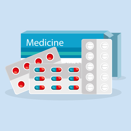 medical elements set icons vector illustration design
