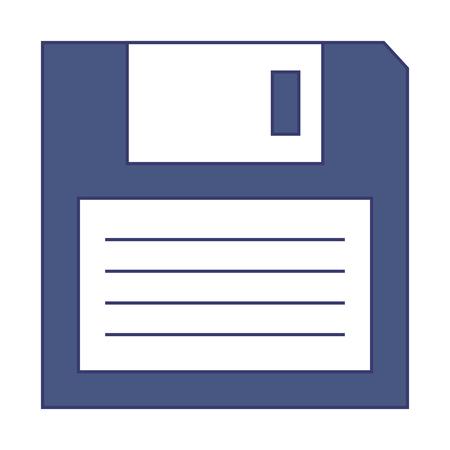 floppy disk storage icon vector illustration design Illustration