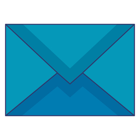 Envelope mail isolated icon vector illustration design. Illustration