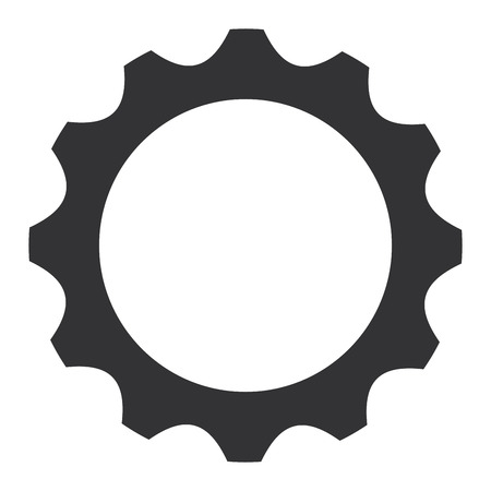 Gears machinery isolated icon vector illustration design.