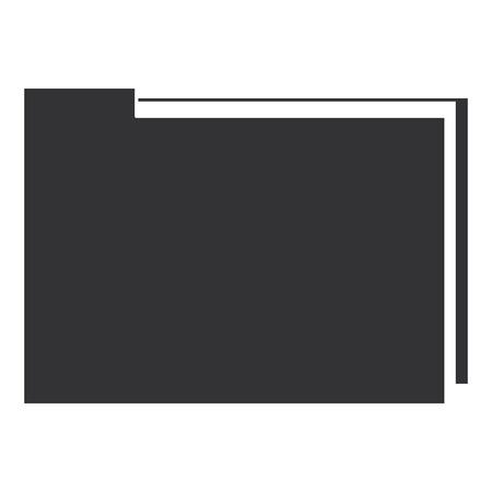 Dossier dossier isolé icône du design illustration vectorielle Banque d'images - 96284399
