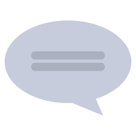 speech bubble message icon vector illustration design Zdjęcie Seryjne