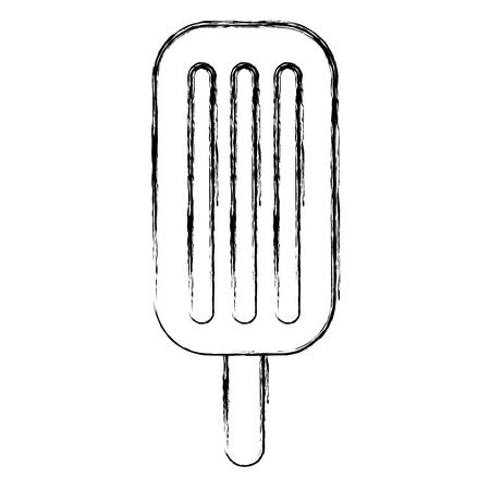 ice cream palette icon vector illustration design