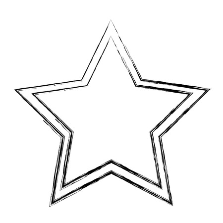 star decorative isolated icon vector illustration design