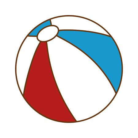 Plastic balloon toy icon