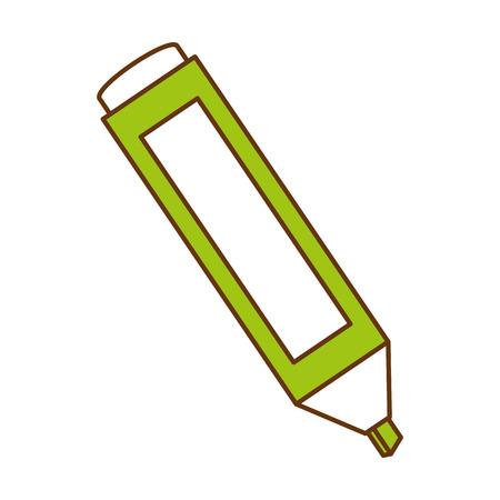 Permanent marker icon Ilustração
