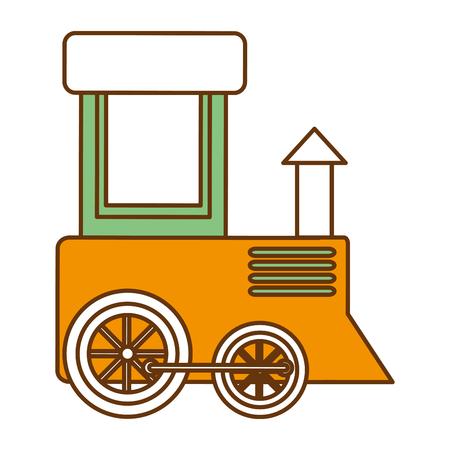 Cute train icon vector illustration design