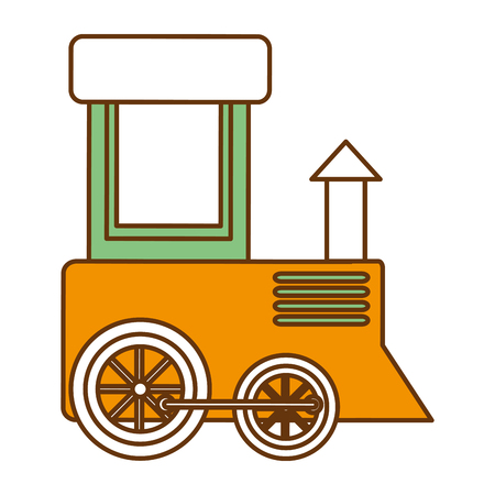 Cute train icon vector illustration design