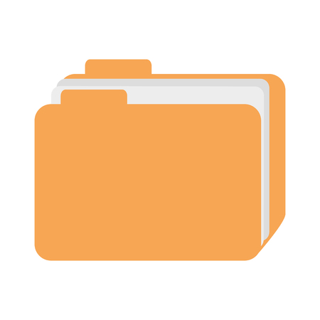 File folder icon vector illustration design Imagens - 96523574