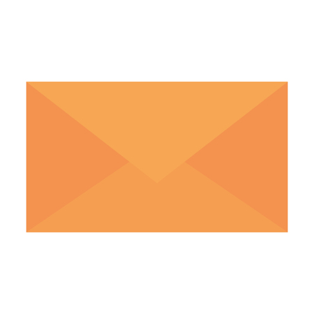 Envelope mail icon vector illustration design