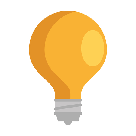 Lightbulb icon idea concept illustration design
