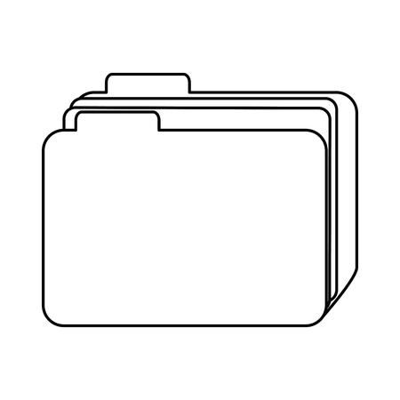 File folder icon vector illustration design