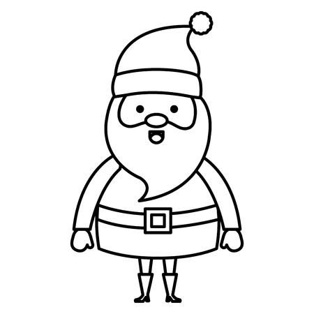 Cute Santa Claus Christmas character Stok Fotoğraf - 96316948