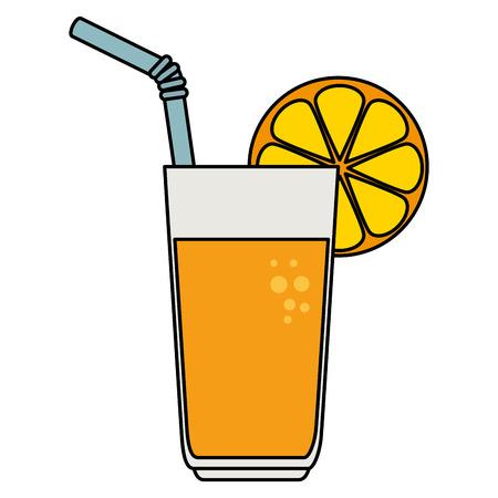 orange juice fruit icon vector illustration design 스톡 콘텐츠 - 96312164