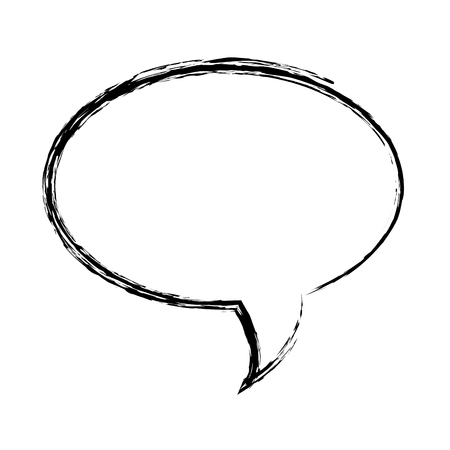 speech bubble message icon vector illustration design Vectores