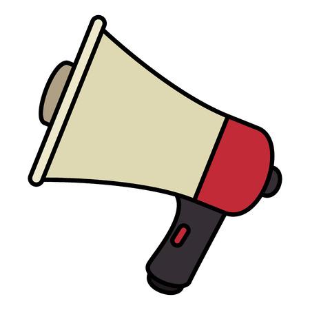 megaphone sound isolated icon vector illustration design Stock Vector - 96315011