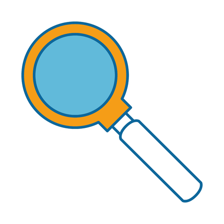 magnifying glass isolated icon vector illustration design 스톡 콘텐츠 - 96524625