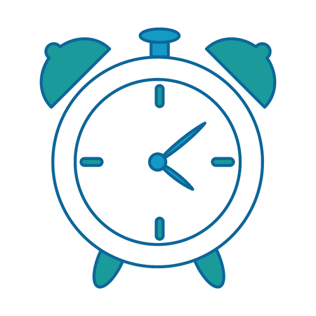 Alarm clock isolated icon vector illustration design.