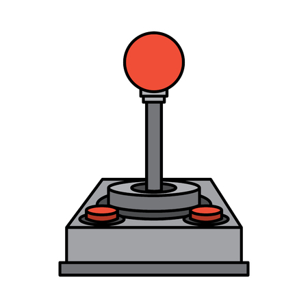 video game joystick vector illustration