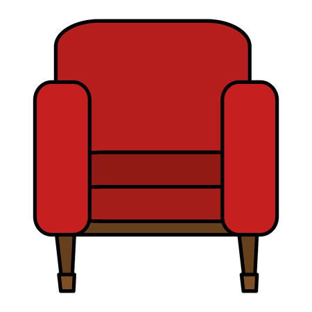 cinema chair isolated icon vector illustration design
