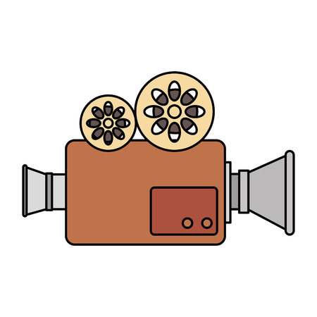 cinema video camera icon vector illustration design