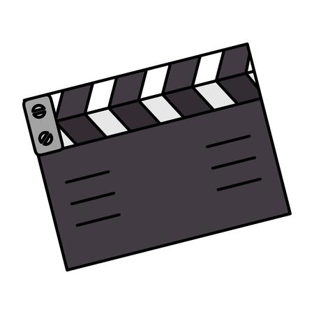 Cinéma cinéma isolé icône du design illustration vectorielle Banque d'images - 96339263