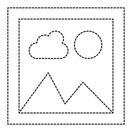 프리 스냅 샷 격리 아이콘 벡터 일러스트 레이 션 디자인 스톡 콘텐츠 - 96391151