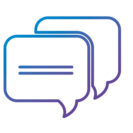 A speech bubble isolated icon vector illustration design 向量圖像