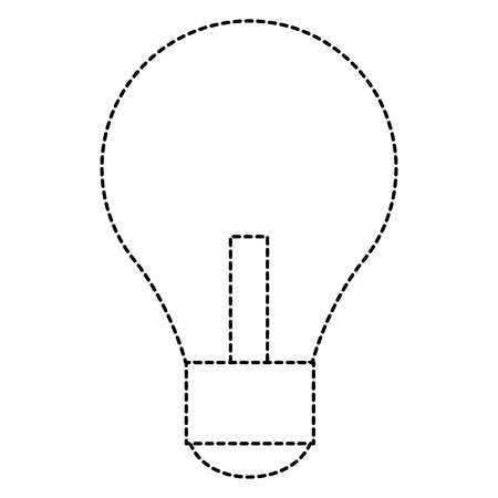 bulb light isolated icon vector illustration design Banco de Imagens