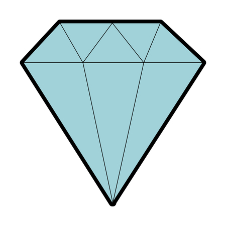 다이아몬드 우아한 격리 아이콘 벡터 일러스트 레이 션 디자인입니다.