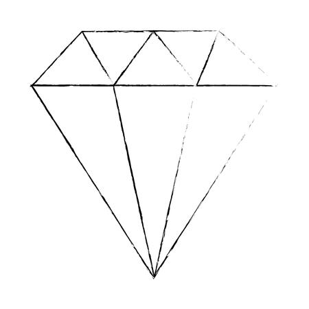 Diamant icône Banque d'images - 96437497