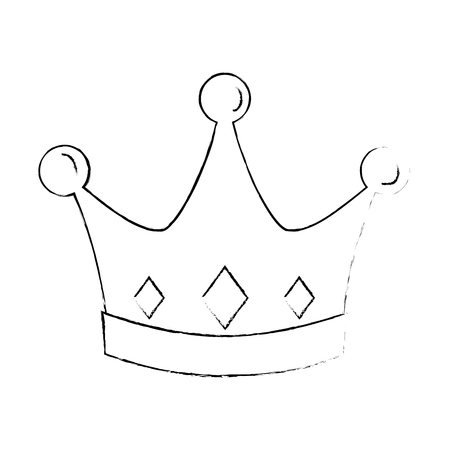 Crown icon Stock Vector - 96436885