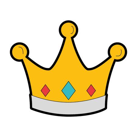 Icono de la corona Foto de archivo - 96437132