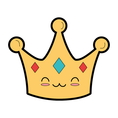 Crown character Ilustrace