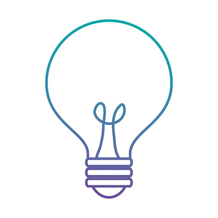 Bulb light idea icon vector illustration design.