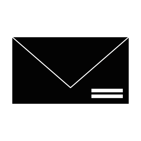 Envelope mail isolated icon vector illustration design. 일러스트