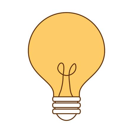bulb light idea icon vector illustration design Banco de Imagens - 96368543