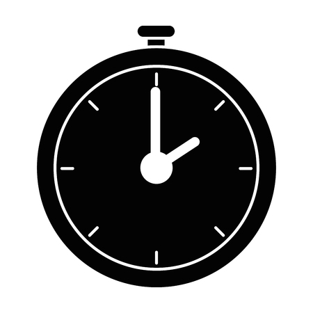A chronometer timer isolated icon vector illustration design