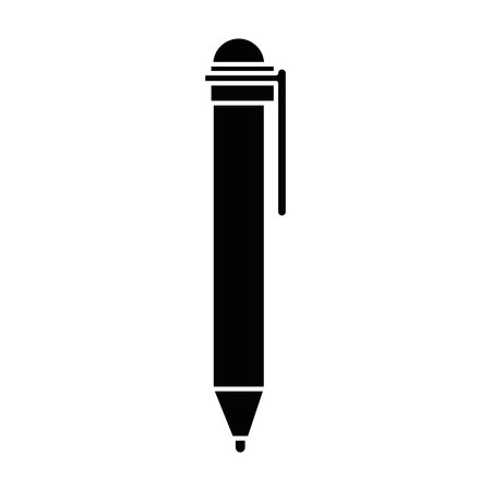 A pen supply isolated icon vector illustration design