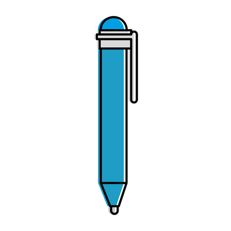 Pen supply isolated icon vector illustration design 일러스트