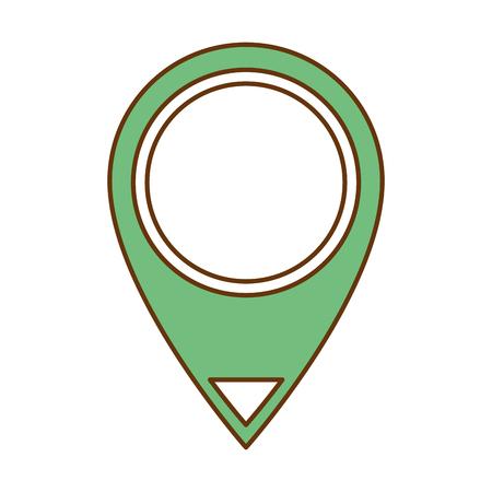 Pin pointer location icon vector illustration design 版權商用圖片 - 96518680